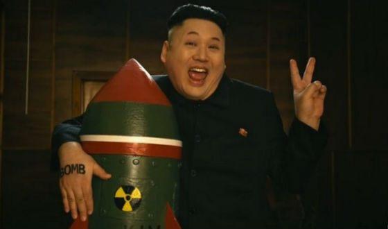 Группа из Петербурга сняла клип о романе Ким Чен Ына с ядерной бомбой  17 млн количество просмотров                                                                                                                           Санкт-Петербургтен келген топ Ким Чен Ынның ядролық бомбасы бар романы туралы клип түсірді  17 млн қарап шыққандар саны