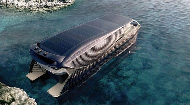 Первая в мире солнечная яхта SolarImpact может путешествовать по миру бесконечно